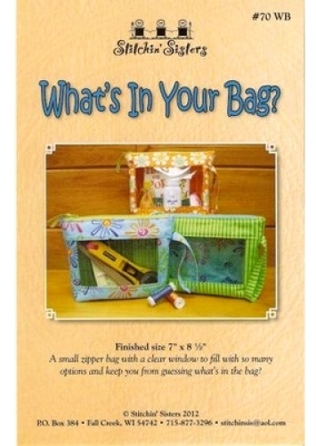 Stitchin' Sisters - What's in Your Bag? 180176000537 - Quilt in a Day Patterns