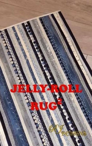 Jelly Roll Rug 2 - Squared