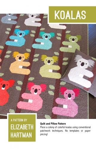 Koalas Quilt Pattern by Elizabeth Hartman
