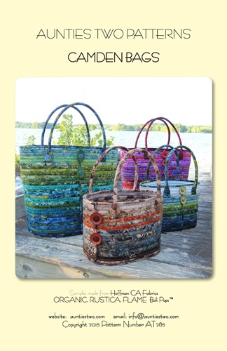 Aunties Two Patterns - Camden Bags 850616002857 - Quilt in a Day Patterns