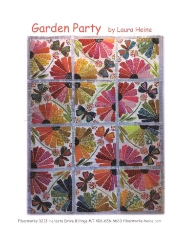 Garden Party Quilt Pattern - Laura Heine