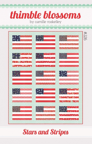 Thimble Blossoms: Stars And Stripes Quilt Pattern #226