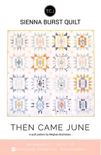 Sienna Burst Quilt Pattern