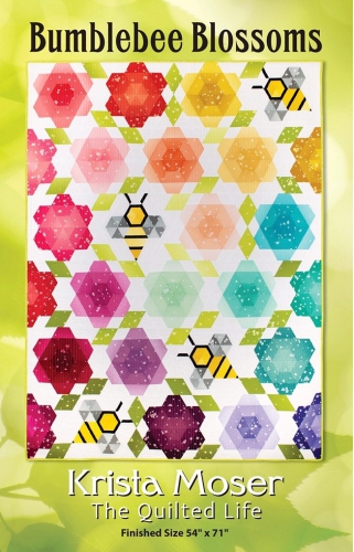 Bumblebee Blossoms Quilt Pattern by Krista Moser