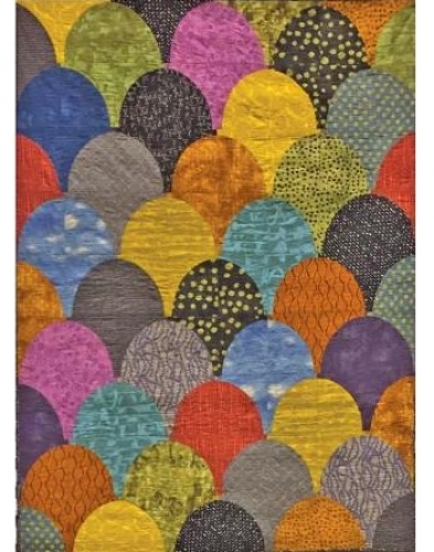 Cut Loose Press - Giant Clam Shells Quilt Pattern CLPKAL005 - Quilt in a Day Pat...