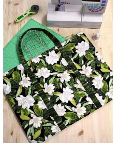 Mat Board Tote Bag Pattern - Cut Loose Press - CLPCFR002
