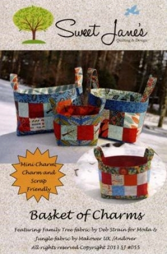 Basket of Charms Pattern by Sweet Janes Quilting & Design 700598346282 - Quilt i...