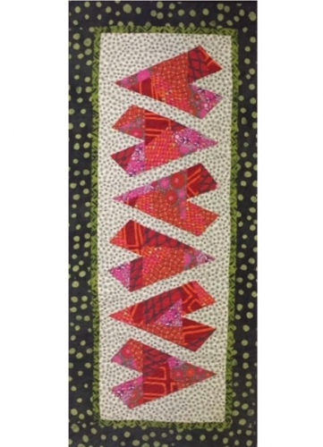 PT- Crazy Hearts Table Runner