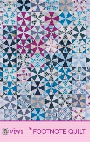 Footnote Quilt Pattern by Crimson Tate