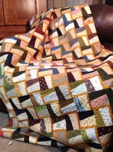 Cut Loose Press - Lightning Flash Quilt Pattern CLPGRG002 - Quilt in a Day Patte...