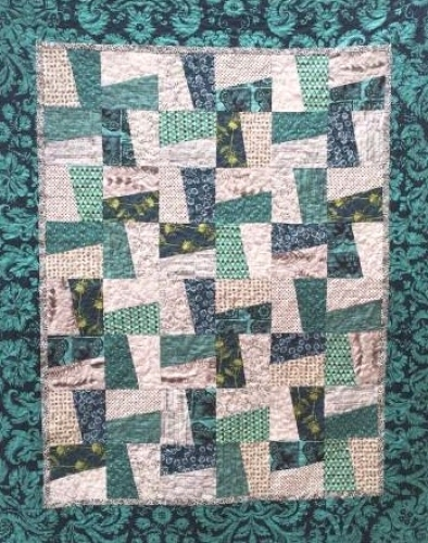 Cut Loose Press - Twirl Quilt Pattern CLPKAL002 - Quilt in a Day Patterns