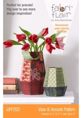 Fabriflair Vase & Vessels by Indygo Junction 729266562021 - Quilt in a Day Patte...