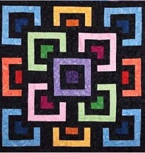 Cut Loose Press - Block-A-Bye Quilt Pattern