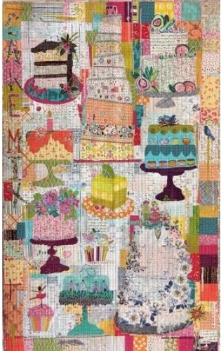 Cake Mix Collage Pattern by Laura Heine 724696748519 - Quilt in a Day Patterns