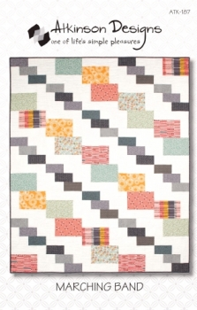 Atkinson Designs Marching Band 643053001879 - Quilt in a Day Patterns