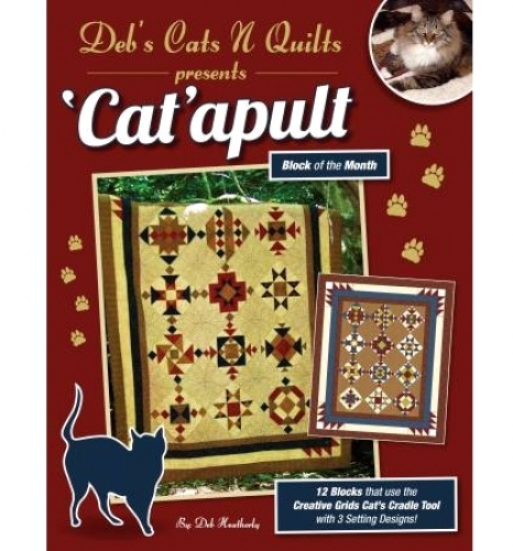 Catapult Block of the Month 854560006503 - Quilt in a Day Patterns