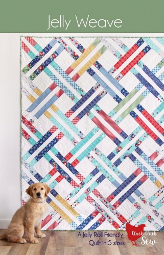 Cluck Cluck Sew Jelly Weave Quilt Pattern