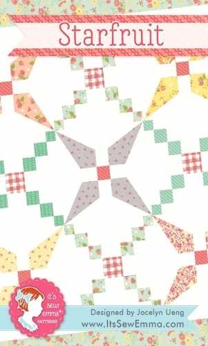 Star Fruit Quilt Pattern