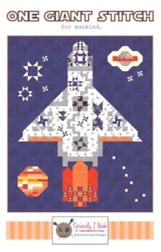 One Giant Stitch Quilt Pattern by Kelli Fannin Quilt Designs- Quilt in a Day Pat...
