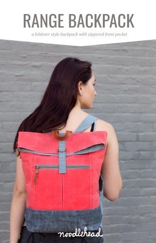 Range Backpack Pattern by Noodlhead