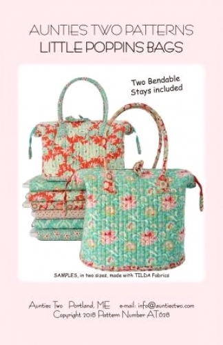 Aunties Two: Little Poppins Bag Pattern