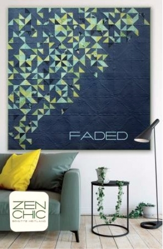 Faded Quilt Pattern by Brigitte Heitland Zen Chic 652118226034 - Quilt in a Day ...