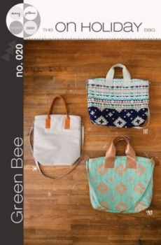 The On Holiday Bag by Green Bee Designs 022228998532 - Quilt in a Day Patterns