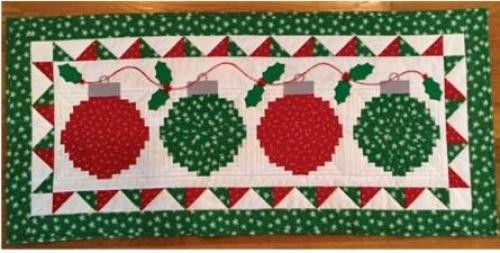 Happy Noel Table Runner Pattern CLPDHE026