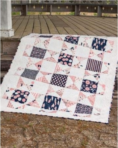 Cut Loose Press - Square One Quilt Pattern CLPISE016 - Quilt in a Day Patterns