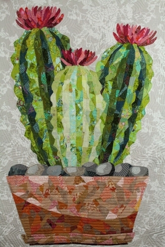 Cactus Collage Quilt Pattern by Emily Taylor Designs- Quilt in a Day Patterns