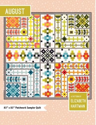 August Quilt Pattern by Elizabeth Hartman
