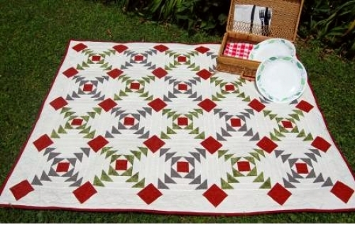 Cut Loose Press - Flying Pineapple Quilt Pattern
