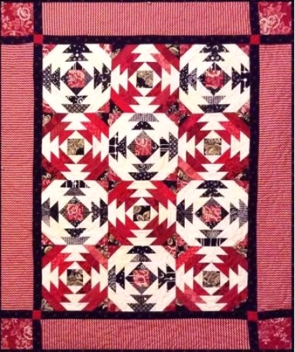 Cut Loose Press - Pineapple Salsa Quilt Pattern CLPJAW009 - Quilt in a Day Patte...