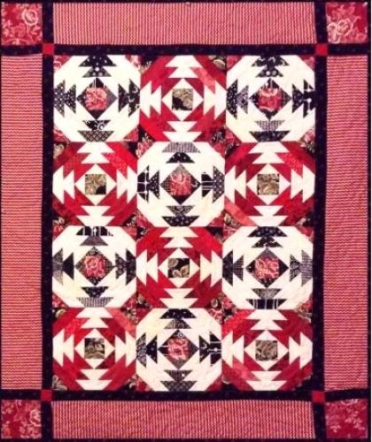 Cut Loose Press - Pineapple Salsa Quilt Pattern CLPJAW009