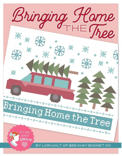Bringing Home The Tree Cross Stitch Patter by Lori Holt
