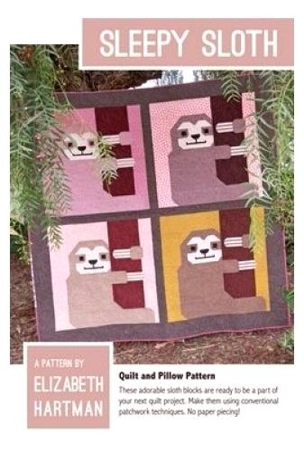 Sleepy Sloth by Elizabeth Hartman 712096278392 - Quilt in a Day Patterns