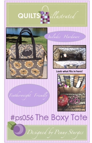 The Boxy Tote Pattern by Quilts illustrated