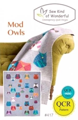 Sew Kind Of Wonderful - Mod Owls