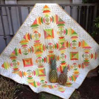 Pineapple Rings Quilt Pattern CLPJAW035