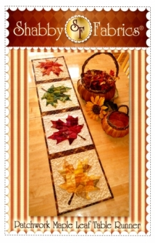 Patchwork Maple Leaf Table Runner