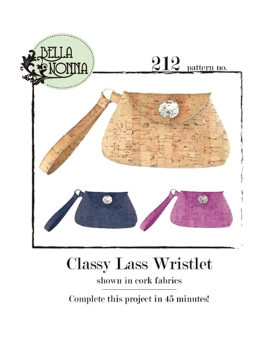Classy Lass Wristlet Sewing Pattern 099461267886 - Quilt in a Day Patterns