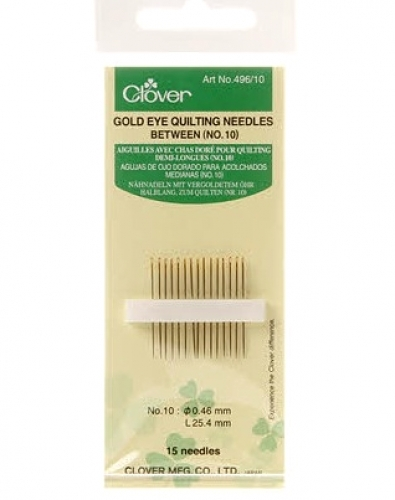 (N35) Clover Quilting Needle #10 - 051221403088 Quilting Notions