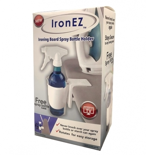 IronEZ - Ironing Board Spray Bottle Holder - 680044364315 Quilting Notions