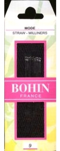 Bohin Milliners- Straw Needles size 9 - 3073640006210 Quilting Notions