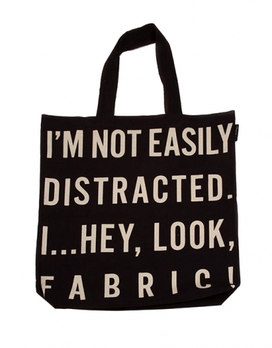 Tote - I'm Not Easily Distracted Bag