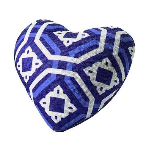 Sew Easy Heart Pin Cushion  - Blue