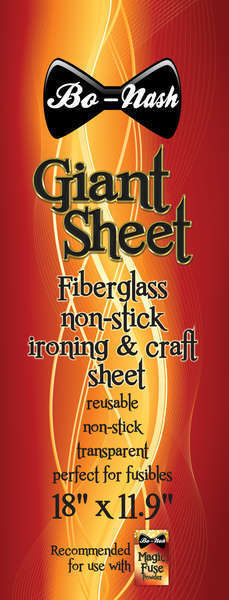 Bo-Nash Giant Fiberglass Non-stick Ironing & Craft Sheet