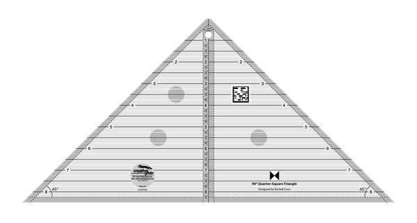 Creative Grids - 90 Degree Quarter-Square Triangle - CGRT90