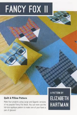 Fancy Fox 2 by Elizabeth Hartman 702168998464 - Quilt in a Day Patterns