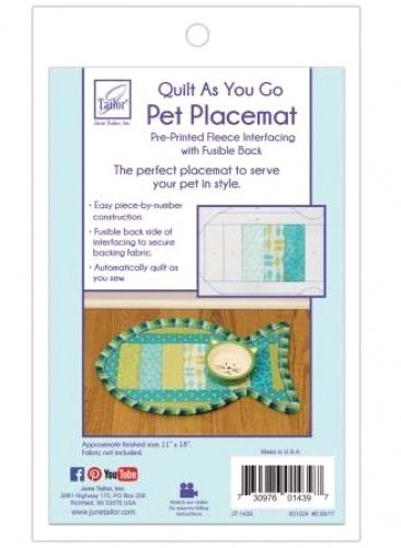 Pet Placemat Quilt As You Go